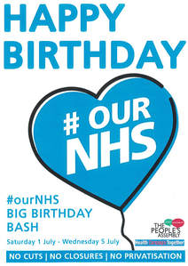 Thank You To Everyone Who Signed Our Big Birthday Card It Will Be Delivered Jeremy Hunt And Theresa May
